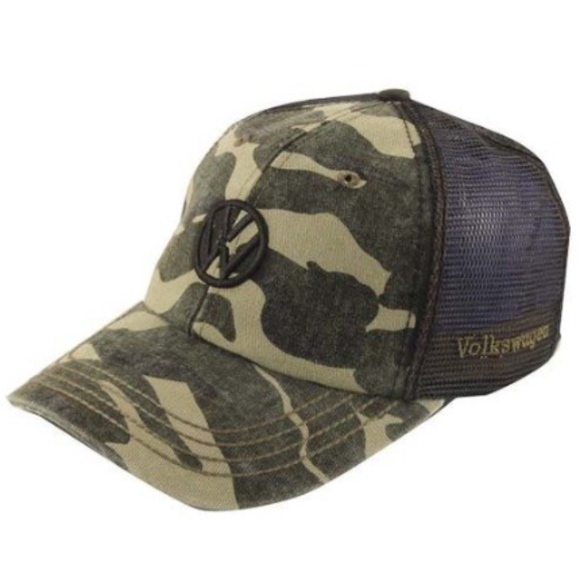 VW Volkswagen Driver Gear Camo Hat Cap official. M 5b4bbbffaa5719dc38aa2c91 138bbae0c3e8